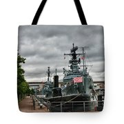 Buffalo Naval And Military Park Tote Bag