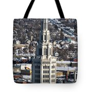 Buffalo Ny Electric Building Winter 2013 Tote Bag