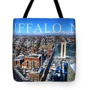 Buffalo Ny Winter 2013 Tote Bag