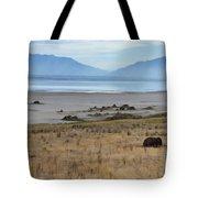 Buffalo Of Antelope Island V Tote Bag