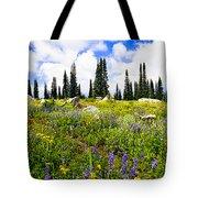 Buffalo Pass Colorado Wildflowers Tote Bag