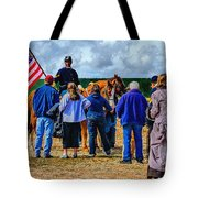 Buffalo Soldier Fort Verde Arizona Tote Bag