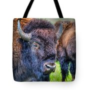 Buffalo Warrior Tote Bag