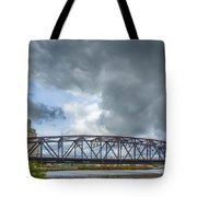 Buffalo's Ohio Street Bridge Tote Bag