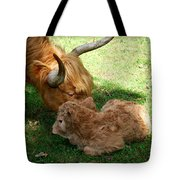 Buffie's First Bath Tote Bag