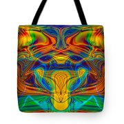 Bug Eyed Monster Tote Bag by Omaste Witkowski