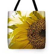 Bug In The Sunflower Tote Bag
