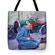 Bugatti-angouleme France Tote Bag by Derrick Higgins
