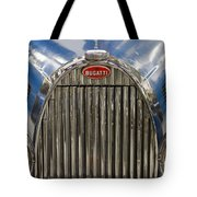 Bugatti In Blue Tote Bag