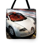Bugatti Is Art In Motion  Tote Bag