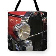 Bugatti Typ 57 Of 1935 Classic Car Tote Bag