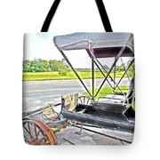Buggy By The Road Tote Bag