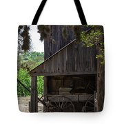 Buggy In The Barn Tote Bag