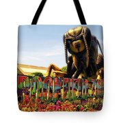 Bugs At Brookfield Zoo Signage Tote Bag