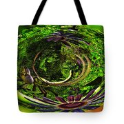 Bugs At The Zoo Dragonfly Tote Bag
