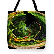 Bugs At The Zoo Grasshopper Tote Bag
