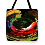 Bugs At The Zoo Lady Bug Tote Bag