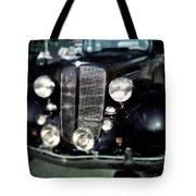 Buick At The Car Show Tote Bag