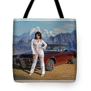 Buick Riviera Lowrider Tote Bag