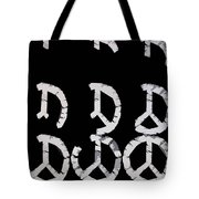 Build Up Peace Tote Bag