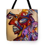 Building A Face Tote Bag