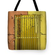 Building Access Denied Tote Bag