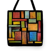 Building Blocks Three Tote Bag