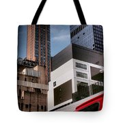 Tribute To Leger 3 - Building Blocks - Architecture Of New York City Tote Bag