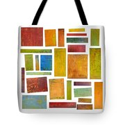 Building Blocks Two Tote Bag by Michelle Calkins