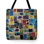 Building Collage Tote Bag