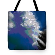 Building Cumulus Abstract Tote Bag