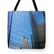 Building Mosaic Tote Bag