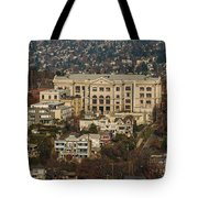 Building On Queen Anne Seattle Washington Tote Bag