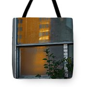 Building Reflected Tote Bag