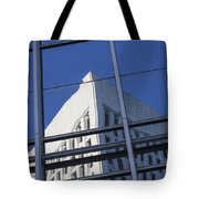 Building Reflection Tote Bag