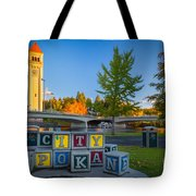 Building The City Tote Bag