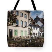 Buildings Along Canal, Altstadt Tote Bag