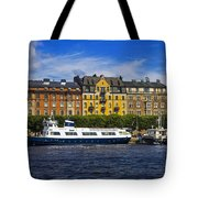 Buildings And Boats Tote Bag