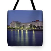Buildings At The Waterfront, Cape Fear Tote Bag