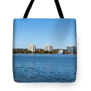 Buildings At The Waterfront, Kempenfelt Tote Bag