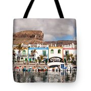 Buildings At The Waterfront, Puerto De Tote Bag