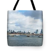 Buildings At The Waterfront, Thames Tote Bag