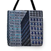 Buildings Downtown Pittsburgh Tote Bag