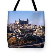 Buildings In A City, Toledo, Toledo Tote Bag