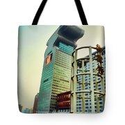 Buildings In Shanghai Tote Bag