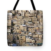 Buildings In The City Of Amman Jordan Tote Bag