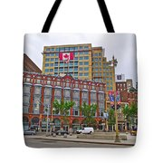 Buildings Near War Memoriall In Ottawa-on Tote Bag
