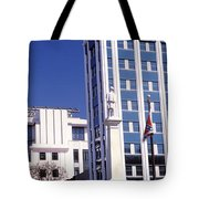 Buildings Viewed From Confederate Tote Bag
