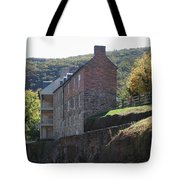 Built On A Rock Tote Bag