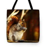 Bulking Up For Winter Tote Bag
